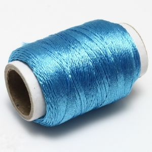 Scintil thread, Cotton thread, blue, 150m, Glossy, (CGX095)